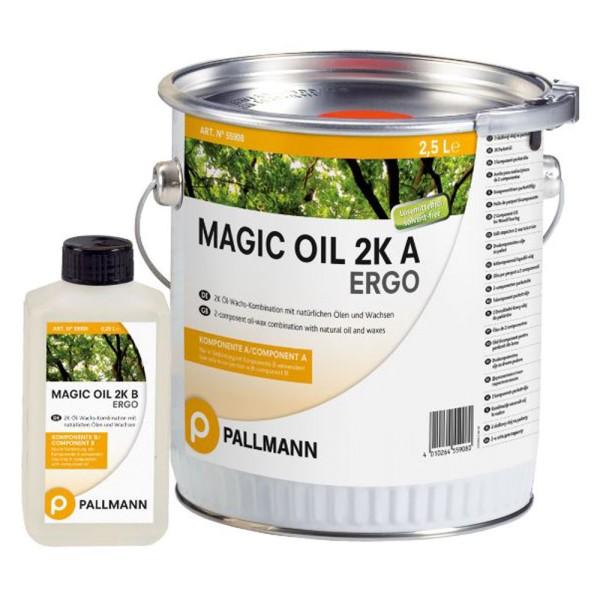 Pallmann Magic Oil 2k ERGO 2k-Parkettöl-Wachs-System 2.75 L auf DeinBoden24.de