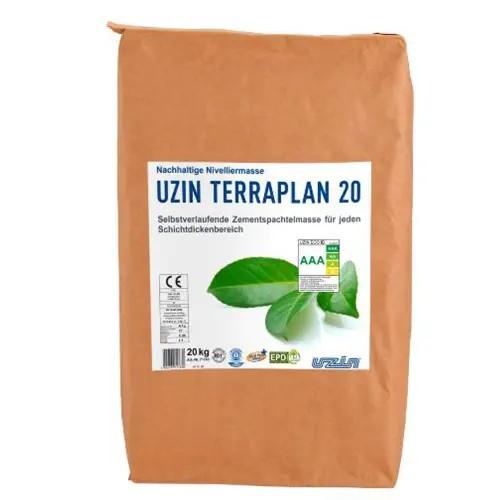 UZIN TERRAPLAN 20 Nachhaltige Nivelliermasse auf Bodenchemie.de