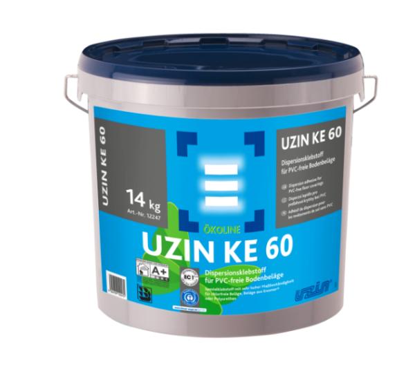 UZIN KE 60 Dispersionsklebstoff für PVC-freie Bodenbeläge 14kg günstig online kaufen auf DeinBoden24.de