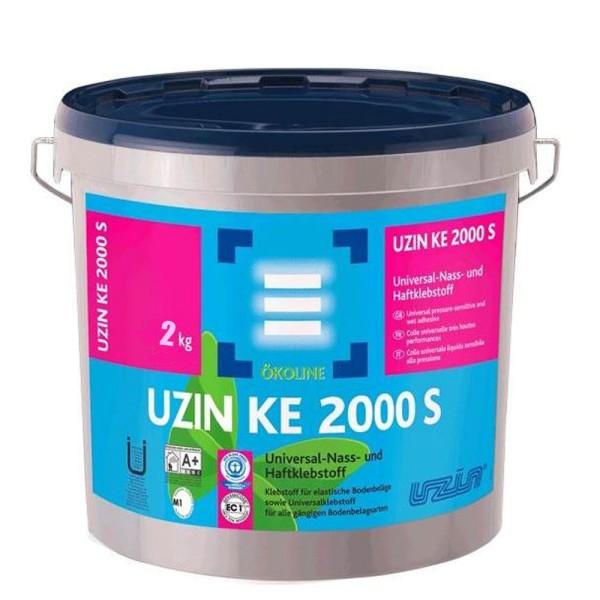 UZIN KE 2000 S 2kg Universalklebstoff für alle gängigen Bodenbelagsarten auf Bodenchemie.de