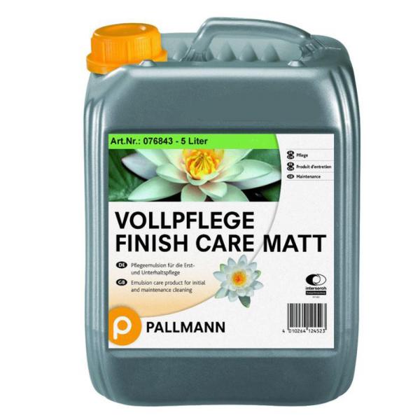 Pallmann Vollpflege Finish Care MATT 5 Liter auf DeinBoden24.de