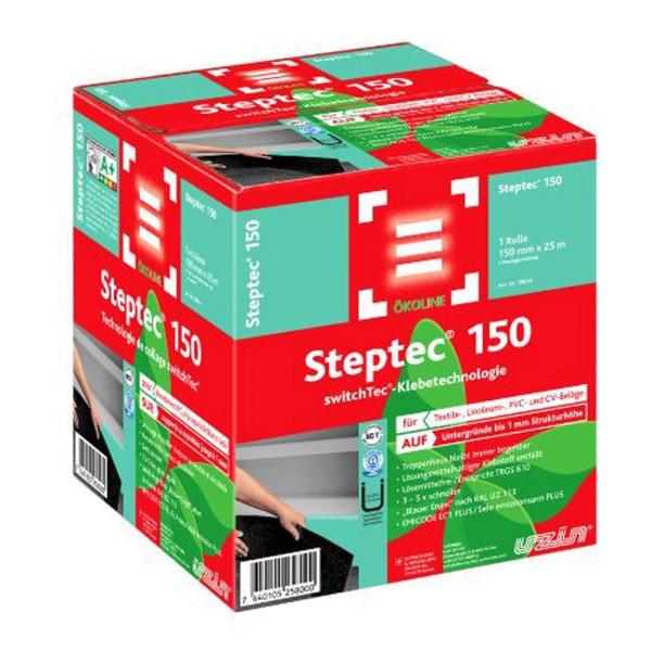 Steptec 150 Spezial Trockenklebesystem für den Treppenbereich 25m