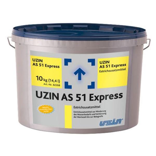 UZIN AS 51 Express Pulverförmiges Estrichzusatzmittel zur Wasserreduktion auf Bodenchemie.de
