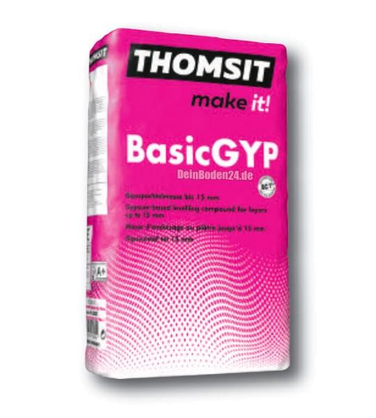 Thomsit PCI BasicGYP Gipsspachtelmasse für den Wohnbereich 25kg