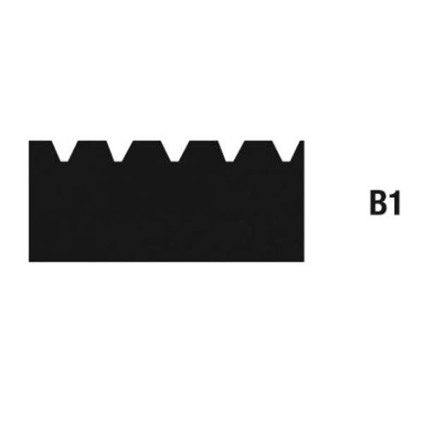 Zahnleisten Zahnung B1 - 21cm auf Bodentools.de