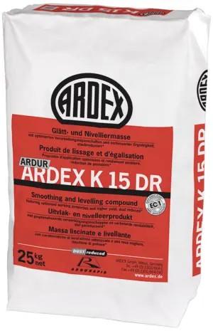 ARDEX K 15 DR Glätt- und Nivelliermasse 25kg