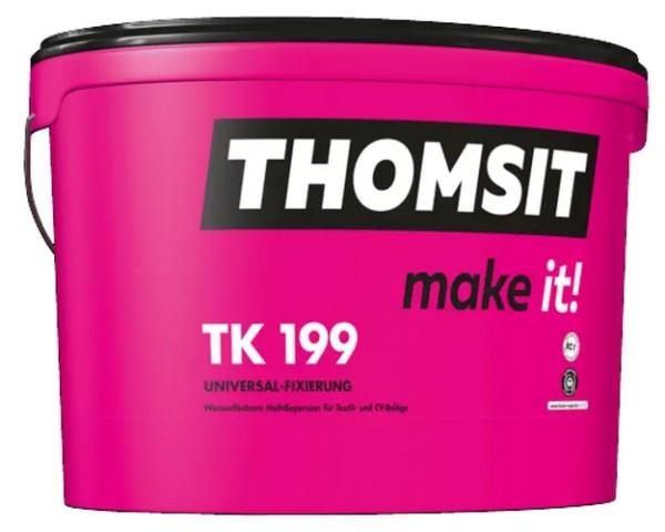 Thomsit PCI TK 199 Universal-Fixierung Haftdispersion für Textil- und CV-Beläge 12kg
