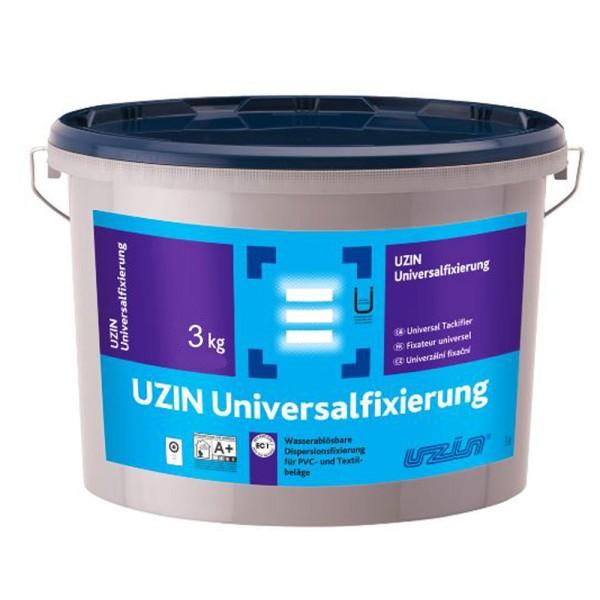 UZIN Universalfixierung 3kg wasserablösbare Dispersionsfixierung für PVC- und Textilbeläge auf Bodenchemie.de