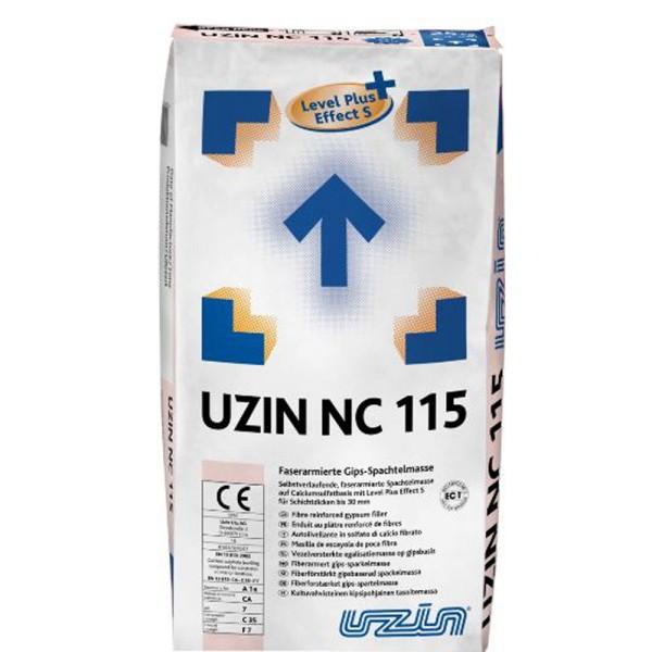 UZIN NC 115 Faserarmierte Gips-Spachtelmasse auf Bodenchemie.de