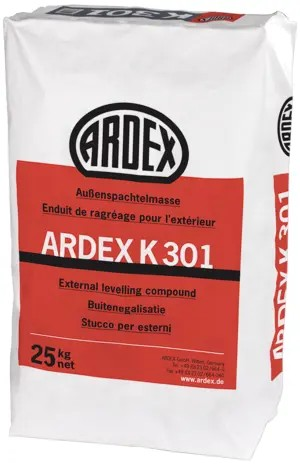 ARDEX K 301 selbstverlaufende Außenspachtelmasse 25kg