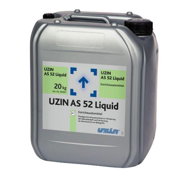 UZIN AS 52 Liquid Flüssiges Estrichzusatzmittel zur Wasserreduktion auf Bodenchemie.de