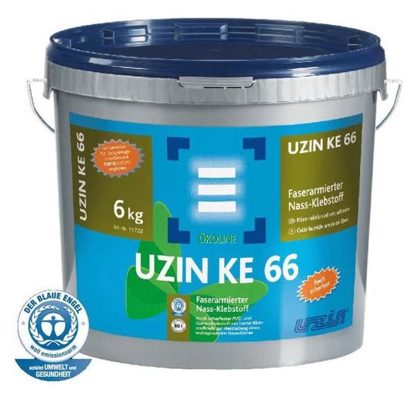 UZIN KE 66 Faserarmierter Nass-Klebstoff für Vinylboden auf Bodenchemie.de