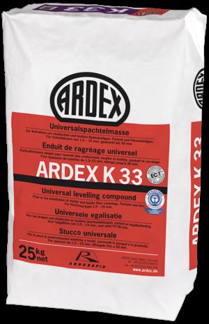 ARDEX K 33 Universalspachtelmasse 25kg