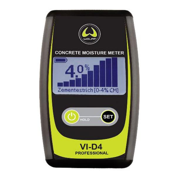 Wolff Feuchtigkeitsmessgerät V1-D4 Professional auf Bodentools.de