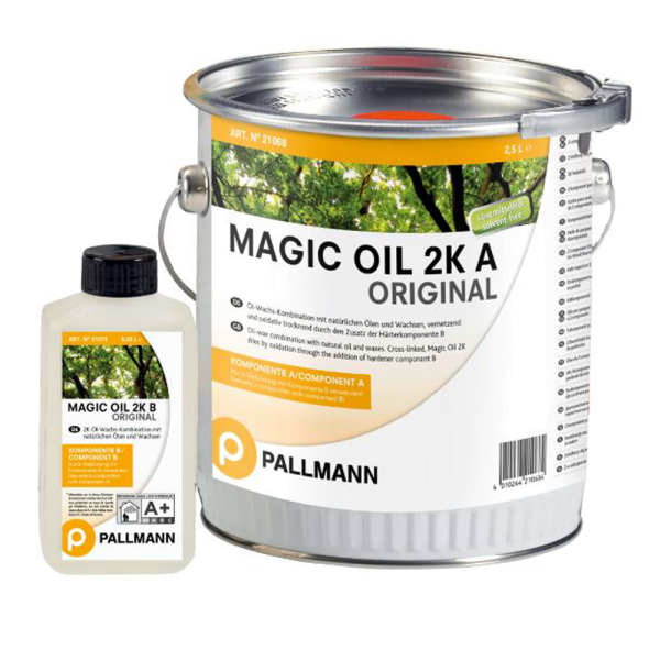 MAGIC OIL 2K ORIGINAL High-Solid 2-Komponenten Parkettöl 2,75L auf DeinBoden24.de