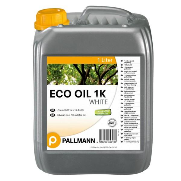 Pallmann Eco Oil WHITE 1K Parkett Rollöl 1 Liter auf Bodenchemie.de