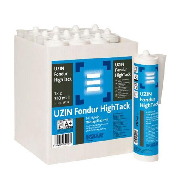 UZIN Fondur HighTack 1-K Hybrid-Montageklebstoff auf Bodenchemie.de