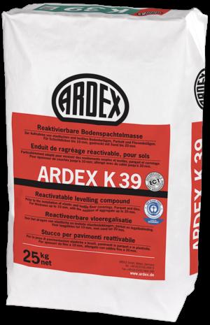ARDEX K 39 Reaktivierbare Bodenspachtelmasse 25kg